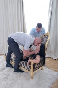 Steamy Anal Threesome #2