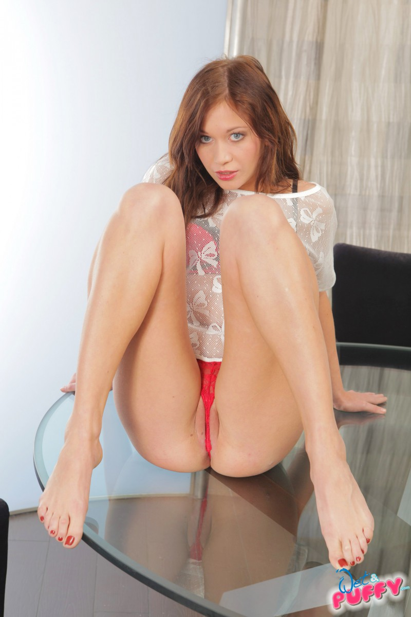 Redhead trailer trash takes on two bbcs in trailer - 1 part 8