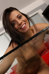 Perfecting Her Piss Play #14